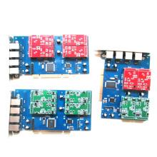 Asterisk 4 Port FXO FXS PCI Card for Voip IP PBX Digium TDM410P Openvox