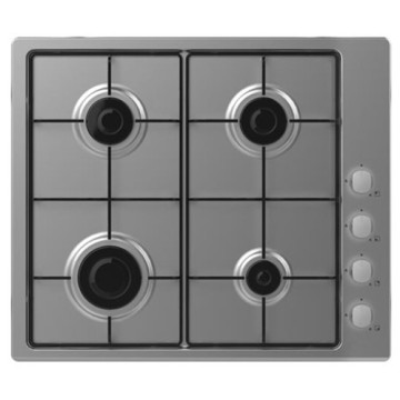 Candy UK Gas Hob 60cm Inox Plate