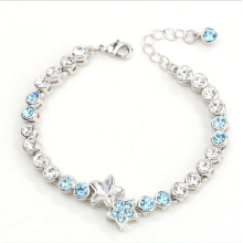 Fashion star rhinestones bracelets