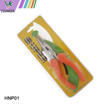 Min Long Nose Pliers With Cutter & Teeth