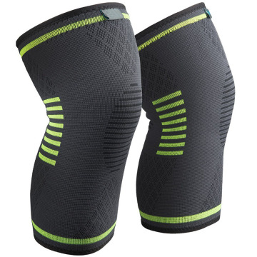 Ezemidlalo Nasemidlalweni ye-Athletes Elastic Compression Knee Support Sleeve