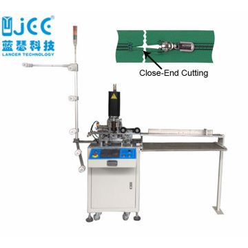 Automatic Nylon Zipper Ultrasonic Close End Cutting Machine