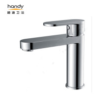 Brass Basin Single Lever Middle Neck Long Mixer