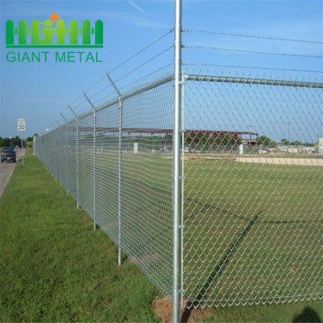 Low carbon steel Cheap chain link fence price