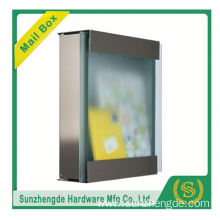 SMB-066SS High quality stainless steel mailbox with newspaper roll with low price