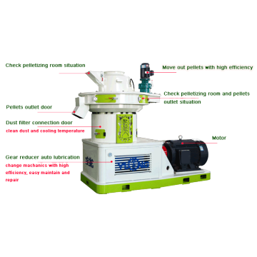 automatic wood pellet making machine