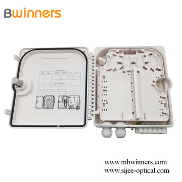 Ftth 12 Cores Indoor/Outdoor Plc Splitter Distribution Box