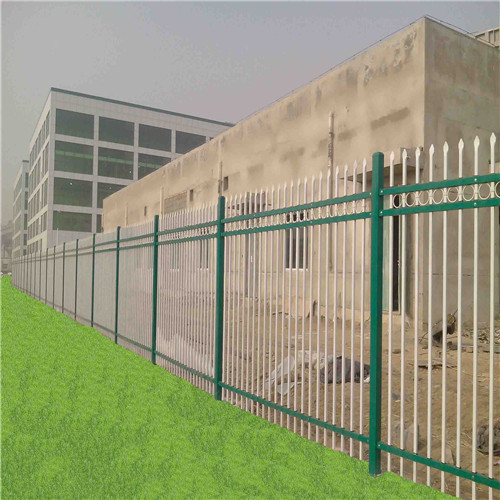 powder coated security backyard metal steel picket fence