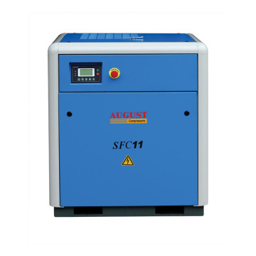11KW 15HP 10bar stationary air cooled air compressor