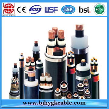 3 Cores Copper Conductor Meddle Volt Armoured XLPE Insulated Power Cable
