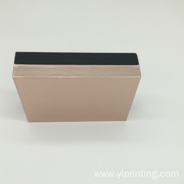 Private label flap handmade magnetic cardboard packaging box