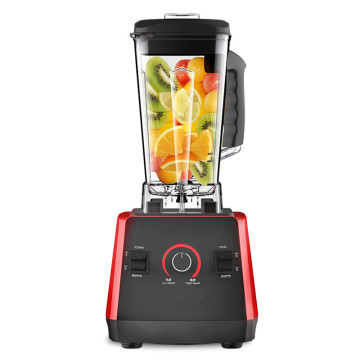 EU/AU/UK 220V Commercial Grade Blender Mixer Juicer High Power Food Processor Ice Smoothie Bar Fruit Blender Peanut Butter Maker