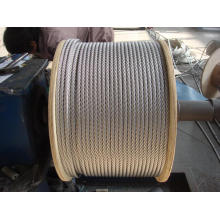 AISI 304 stainless steel wire rope 1x7 0.8mm