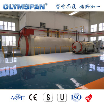 ASME standard composite material curing autoclave