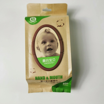 Clean Mouth And Hand Organic Cloth Baby Wipes
