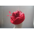 NEW-Women's Satin Church Fascinators Hats --YJ85