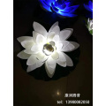 Solar pond lotus lights