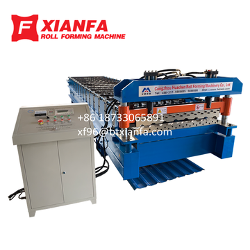 M Panel Roll Forming Machine