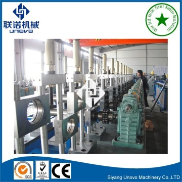 metal fence C section unistrut channel production line