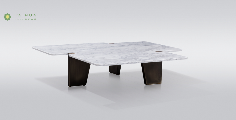Irregular Marble Dining Table