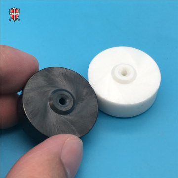 white black isostatic ZrO2 zirconia ceramic wheel roller