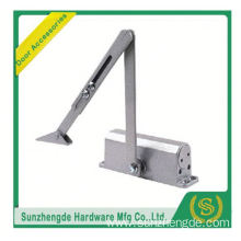 SZD SDC-001 Commercial Door Closer with Parallel Arm Bracket in satin chrome