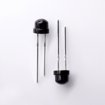 IR receiver 850nm Receiver 5mm Photodiode Black Lens