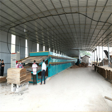 Roller Veneer Dryer Wood Drying