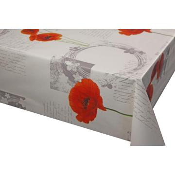 Vinyl Tablecloth with Non woven Backing