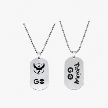 Custom Metal Military Dog Tag with Chain
