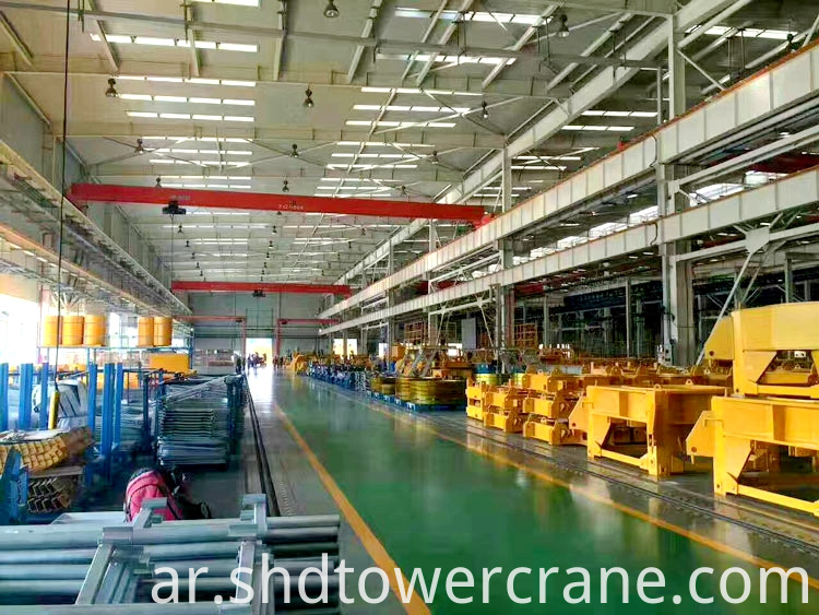 Hot Sale 8Ton Tower Crane