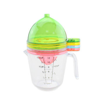 5 in 1 Kitchen Multifunction Plastic Measuring Cups