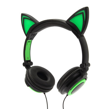 wholesale factory price headphone wired cat ear