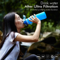 BPA Free Silicone Outdoor Filter Water Bottle