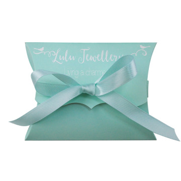 Custom Bow Tie Pillow Paper Gift Box