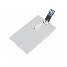 High Speed USB 3.0 Metal Credit Card Shape