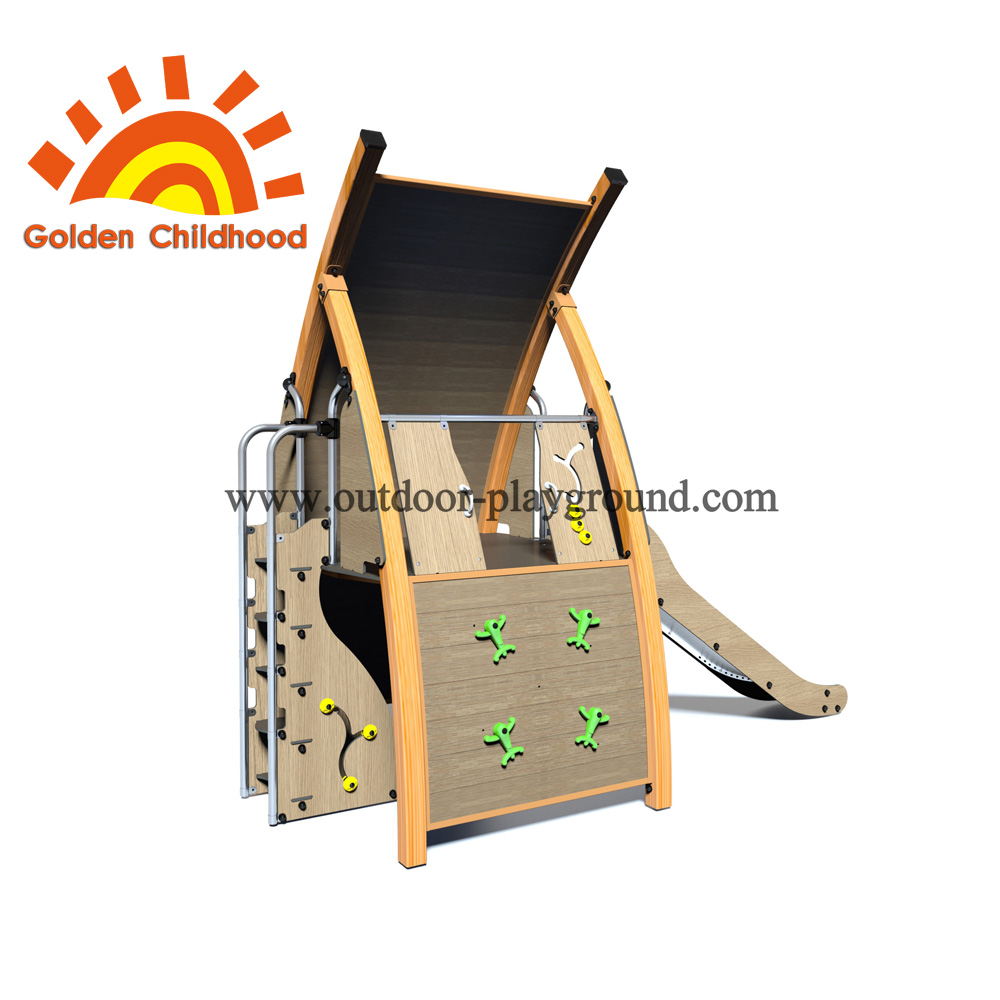 Green Single Panel With Slide Playground Facility For Sale