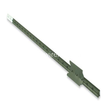Black Coated Galvanized T Post High Quality