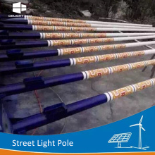 DELIGHT Decorative Lighting Street Steel Poles