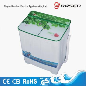 Green Glass Cover Twin Tub 3.8KG Washing Machine