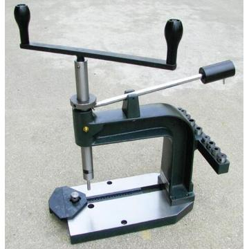 Free shipping Desktop Hand Tapping Machine, Cast Iron, Tap and Dies New Precision Manual Tapper Set Screw Tool