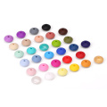 10mm Lentil Silicone Loose Beads Bulk