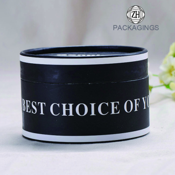 Small paper cardboard cylinder box for face cream
