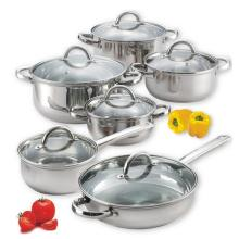 Kitchen Tool 12PCS Cookware Set with Lid