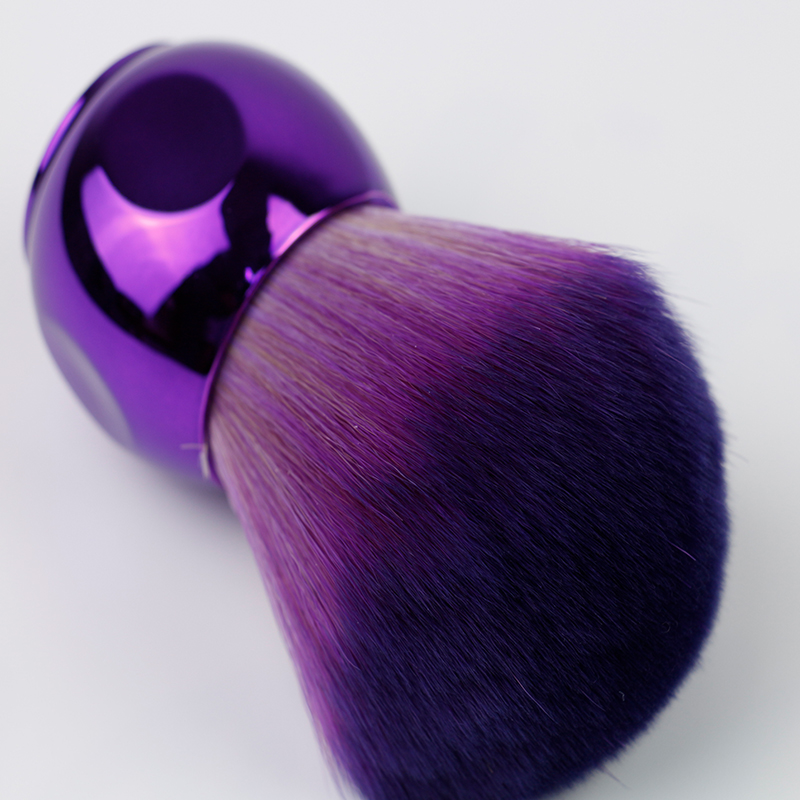 Purple Plastic Handle Makeup Brush
