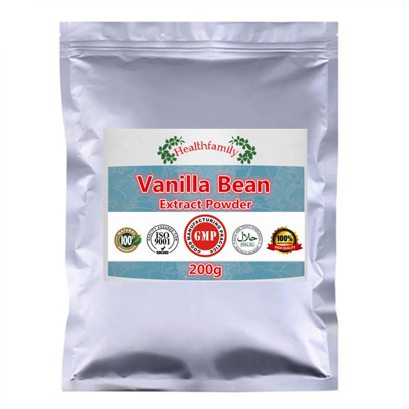 High Quality Natural Organic Vanilla Bean Extract Powder,Madagascar Vanilla planifolia Powder,Top Grade Low Price Free shipping