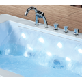 Rectangle Waterfall Freestanding Massage Bath Tub