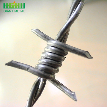 Decorative Safety Galvanized Barbed Wire Price