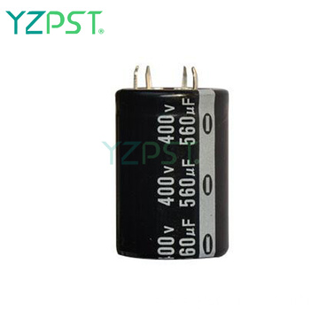 Easily fixed large electrolytic capacitors