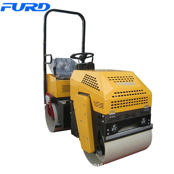 1000kg Small Hydraulic Vibratory Baby Roller Compactor Machine
